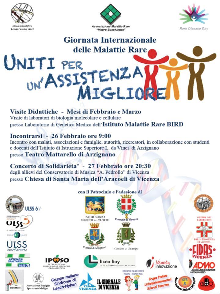 Locandina Giornata Internazionale Malattie Rare 2014